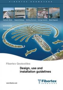 Design, use and installation guidelines