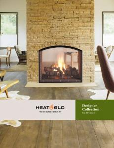 Designer Collection Gas Fireplaces