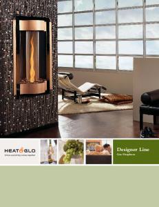 Designer Line Gas Fireplaces