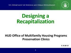 Designing a Recapitalization