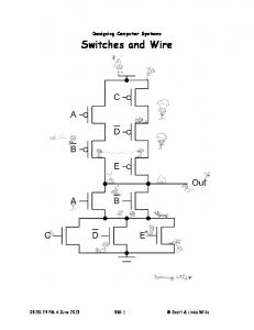Designing Computer Systems Switches and Wire