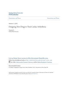Designing New Drugs to Treat Cardiac Arrhythmia