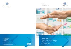 Desinfektion Hygiene und Pflege