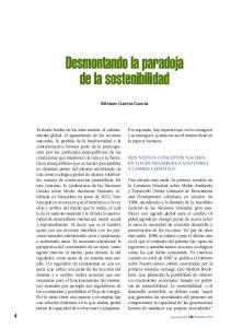 Desmontando la paradoja de la sostenibilidad