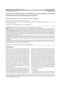 Desmopressin, Imipramine, and Oxybutynin in the Treatment of Primary Nocturnal Enuresis: A Randomized Clinical Trial