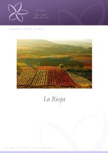 Despedida de - La Rioja. La Rioja. Viajes Origen