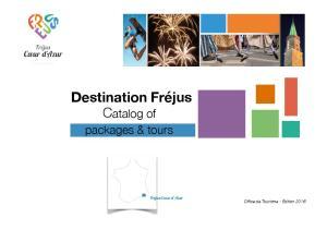 Destination Fréjus Catalog of