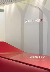 Destination S4 a new approach to travel with Air France at Paris-Charles de Gaulle