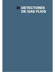 DETECTORES DE GAS FIJOS