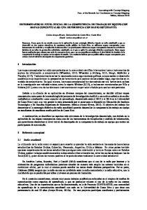 DETERMINANDO EL NIVEL INICIAL DE LA COMPETENCIA DE TRABAJO EN EQUIPO CON MAPAS CONCEPTUALES: UNA EXPERIENCIA CON RADIO ESTUDIANTIL