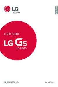 DEUTSCH USER GUIDE LG-H850.  MFL (1.0)