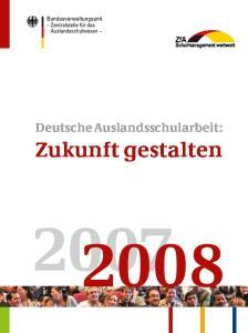 Deutsche Auslandsschularbeit: Zukunft gestalten