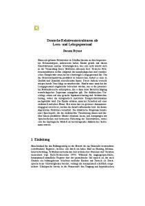 Deutsche Relativsatzstrukturen als Lern- und Lehrgegenstand