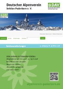 Deutscher Alpenverein Sektion Paderborn e. V