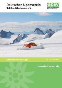 Deutscher Alpenverein Sektion Wiesbaden e.v