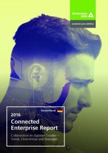 Deutschland 2016 Connected Enterprise Report