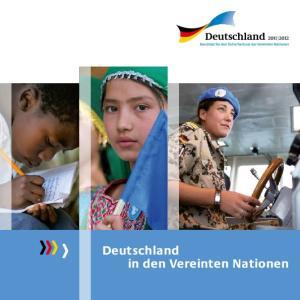 Deutschland in den Vereinten Nationen