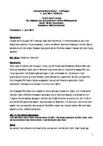 Deutschlandfunk Kultur Zeitfragen 7. Juni 2017, Uhr