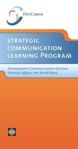 DevComm strategic communication learning Program