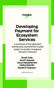 Developing Payment for Ecosystem Services