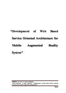 Development of Web Based