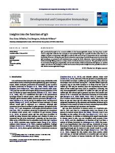 Developmental and Comparative Immunology