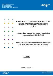 DHV POLSKA Sp. z o.o 1 z 186