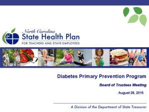 Diabetes Primary Prevention Program
