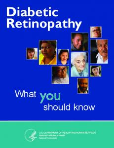 Diabetic Retinopathy. What should know