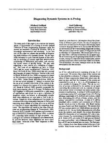 Diagnosing Dynamic Systems in A-Prolog