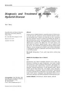 Diagnosis and Treatment of Human Hydatid Disease