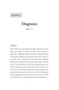 Diagnosis. Chapter 1. Joshua