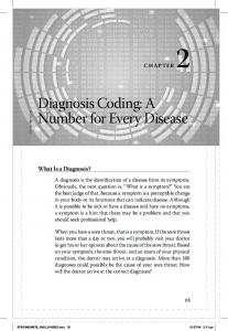 Diagnosis Coding: A Number for Every Disease