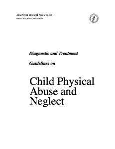 Diagnostic and Treatment Guidelines on