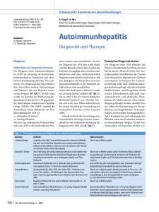 Diagnostik und Therapie