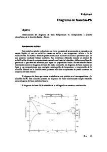 Diagrama de fases Sn-Pb