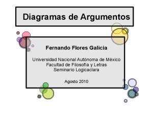 Diagramas de Argumentos