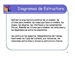 Diagramas de Estructura
