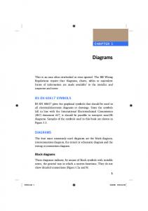 Diagrams BS EN SYMBOLS DIAGRAMS CHAPTER 1. Block diagrams