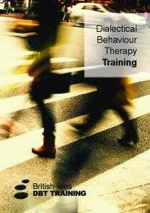 Dialectical Behaviour Therapy Training