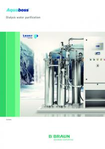 Dialysis water purification