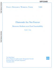 Diamonds Are Not Forever