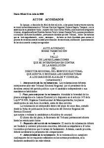 Diario Oficial 21 de Julio de 2008