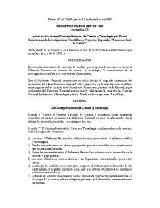 Diario oficial 32669, jueves 12 de diciembre de DECRETO NUMERO 2869 DE 1968 (noviembre 20)