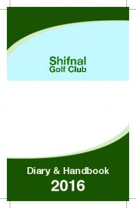 Diary & Handbook 2016