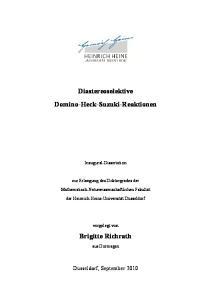 Diastereoselektive Domino-Heck-Suzuki-Reaktionen