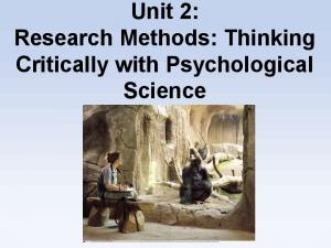 Did We Know It All Along? Hindsight Bias