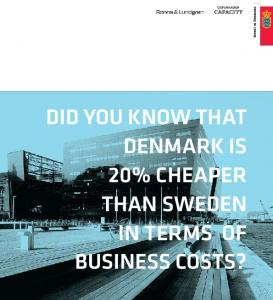 DID you know that Denmark is 20% cheaper. business costs?