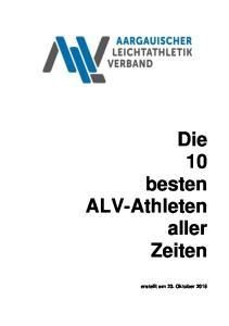 Die 10 besten ALV-Athleten aller Zeiten