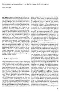 Die Agglomeration von Basel und die Probleme der Raumplanung
